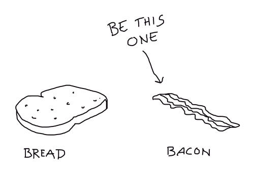 Employer branding- Be bacon, not white bread