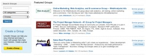 LinkedIn Groups for recruitment