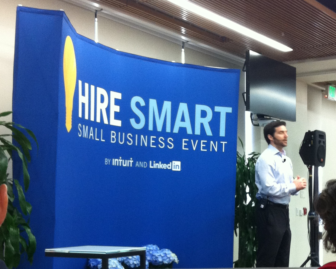 Hire Smart Event LinkedIn Intuit