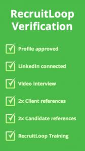 RecruitLoop Verification Steps
