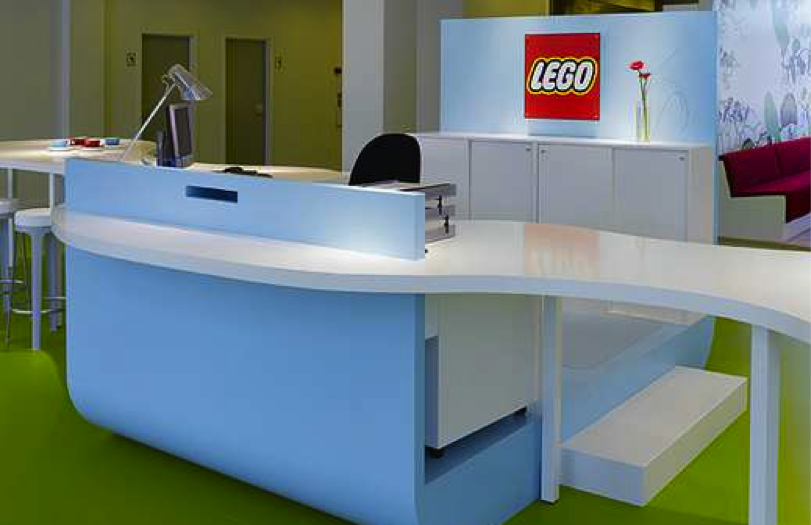 15 Beautiful Workspaces to Inspire Your Office Makeover : Lego 1 from recruitloop.com size 811 x 525 png 424kB