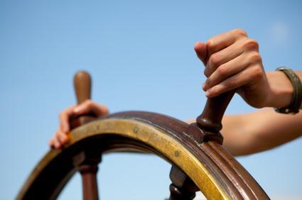 Steering-ship