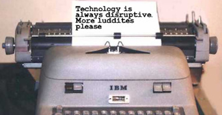 When It Comes To Technology?