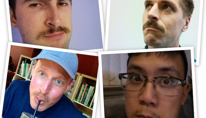 Movember 2014 = Scary Facial Hair & Awesome Charity
