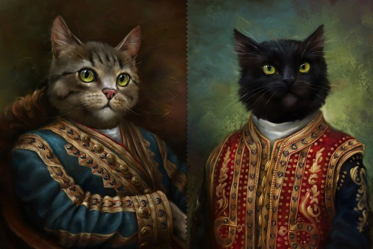 Dogs And Cats Dressed Up