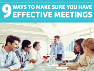 How to Run an Effective Team Meeting