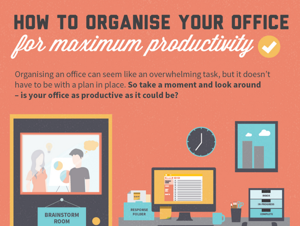 How you organise your office
