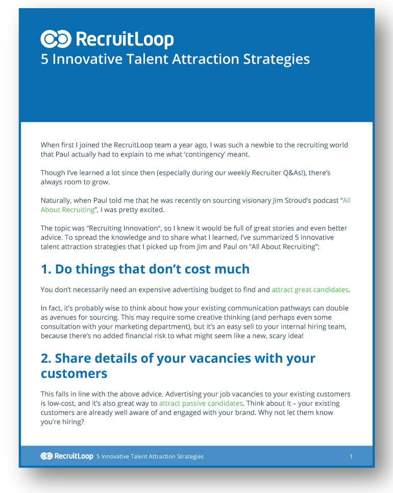5 Innovative Talent Attraction Strategies_366x232
