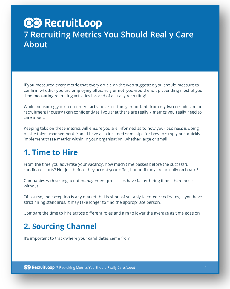 7 Recruiting Metrics You Should Really Care About_366x232