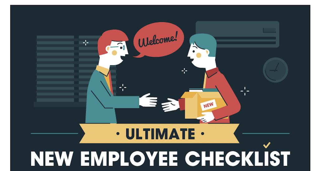 new employee check list