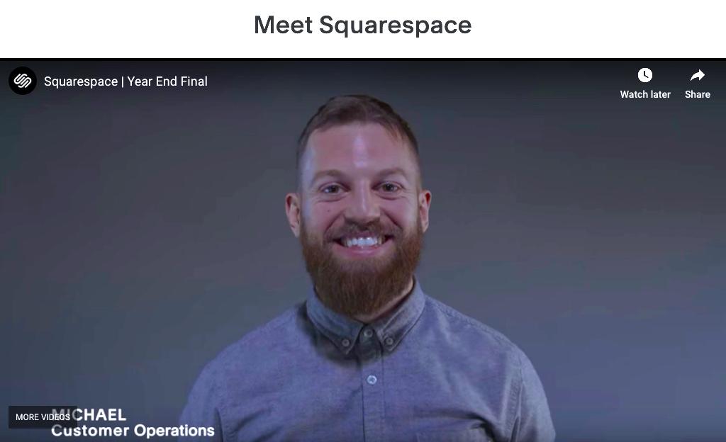 Meet Squarespace