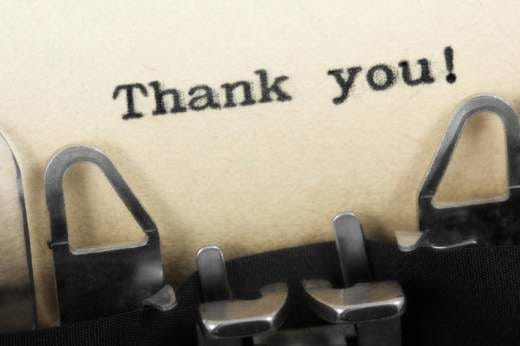 "The Best Way to Say ""Thank You For Your Consideration"""